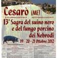 Sagra del Suino Nero e del Fungo Porcino dei Nebrodi ,dal 19 al 21 ottobre 2012 tradizionale aCesarò(Me), una della manifestazioni più attese volte a valorizzare i prodotti del panorama […]