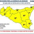 La Protezione Civile ha emesso un'allerta di livello Giallo per tutta la Sicilia relativamente al maltempo in arrivo nelle prossime ore, ecco il testo del bollettino: DAL POMER./SERA DEL 24.03.15, […]